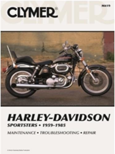 amazon com clymer repair manual for harley sportster xlh xlch xl 59 rh amazon com Harley-Davidson Sportster 883 Harley-Davidson Sportster 883