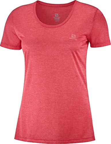 SALOMON Damen Short Sleeve T-Shirt Agile Ss Tee W