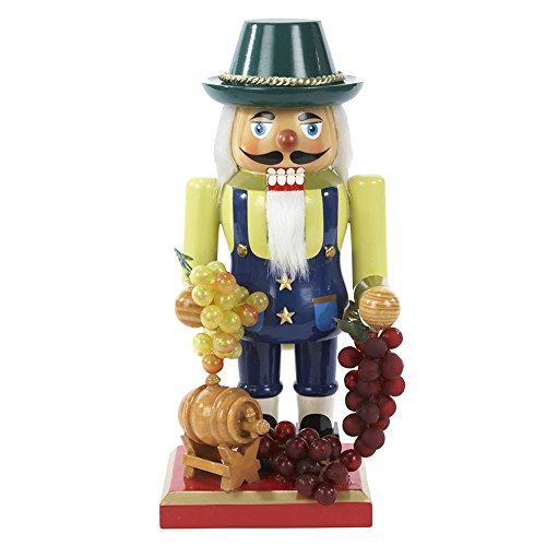 Kurt Adler Wooden Winemaker Nutcracker, 10.25-Inch by Kurt Adler (Image #1)