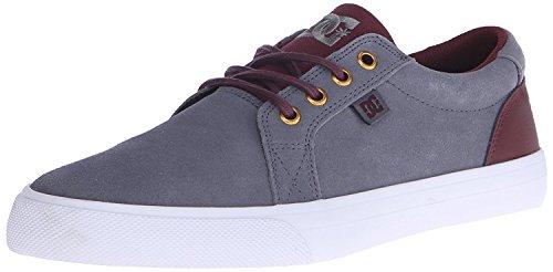 秘書スマート安西DC Men's Council SE-M Skateboarding Shoe Grey/White 7.5 D US [並行輸入品]