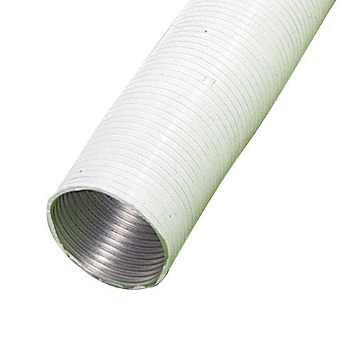 // 5 Metros. Tubo Aluminio Compacto Blanco /Ø 120 Mm