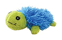 KONG Bright Turtle Toy, Blue/Green