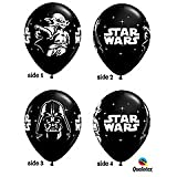 "Star Wars Black 11"" Latex Balloons - Package of 12"