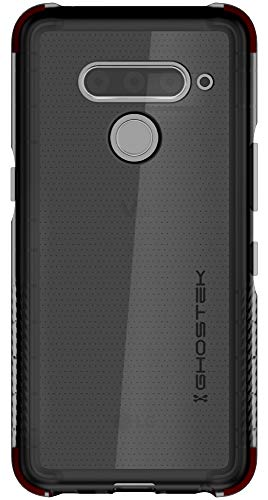 Ghostek Covert Hybrid Slim Clear Military Grade Case Designed for LG V50 ThinQ (2019) - Smoke