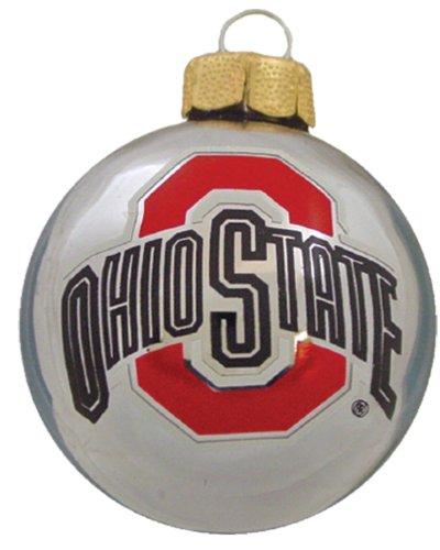 NCAA 3 Pc. Glass Ball Ornament Set