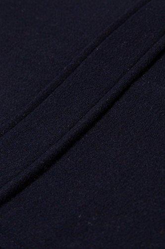 JP 1880 Herren große Größen   Dufflecoat, Mantel, Jacke   Kapuze abnehmbar, Zipper, Knebelknöpfe   bis Größe 7XL   navy XL 706606 70-XL