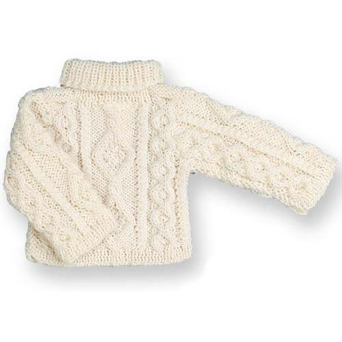 - Sophia's Irish Cable Knit Doll Sweater, Fits 18 Inch American Girl Dolls
