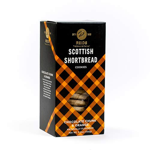 Reids Of Caithness Scottish Shortbread - Chocolate Chunk & Orange Shortbread (5.3 ounce)