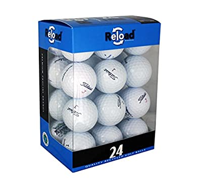 Reload Recycled Golf Balls (24-Pack) of Titleist Golf Balls