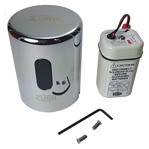 Zurn PTR6200-HW-L-1.28 Commercial Brass PTR6200 ZTR Hardwire Sensor Cap Assembly, 1.28 gpf, Compatible with ZTR Flush Valves, Flushometer Repair Part