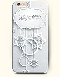 OFFIT iPhone 6 Plus Case 5.5 Inches Christmas Chime - Merry Christmas