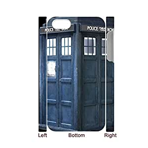 Generic Defender Back Phone Covers For Guys Print With Tardis For Iphone 4 4S Full Body Choose Design 1-19