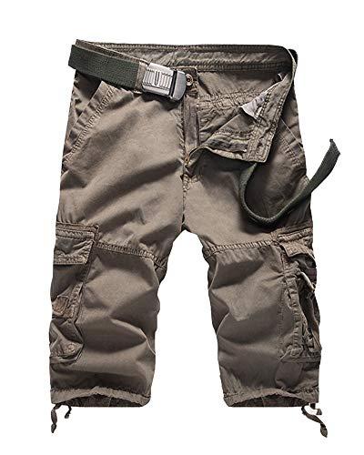 Plage Cargo De Chic Poches Pantalon Short Grau 4 Court Homme Vintage 3 Loisirs Avec Bolawoo Mode 77 Estival Pantalons Bermudas Travail Pour 7qOwE0S