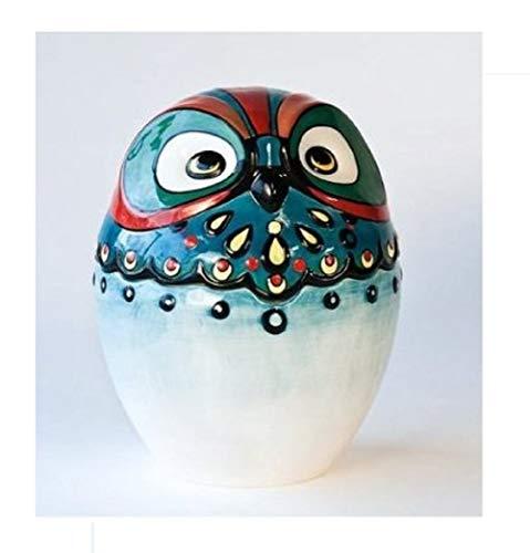 (Owl Bird Design Ceramic Cookie Jar, 10.25 Inches)