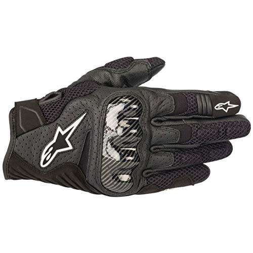Alpinestars SMX-1 Air V2 Motorcycle Riding/Racing Glove (2X-Large, Black)