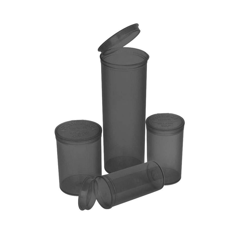 Premium Vials - 315 pcs, 13 Dram Smoke Pop Top Containers Full Cases, Best Medical Marijuana Container Pop Top Bottles Pop Top Vial