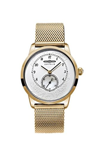 Zeppelin 7333M-5 Viktoria Luise Lady Series Gold Tone Womens Watch