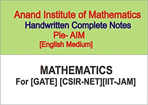 Buy [Mathematics Complete Handwritten Class notes][Pie AIM][Anand