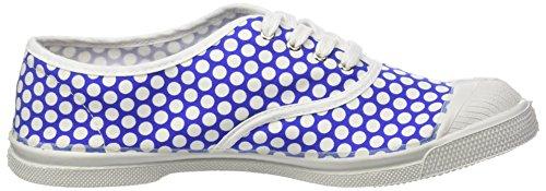 Baskets Lacet Bleu Colorspots Bensimon Tennis Femme qOw0fTY