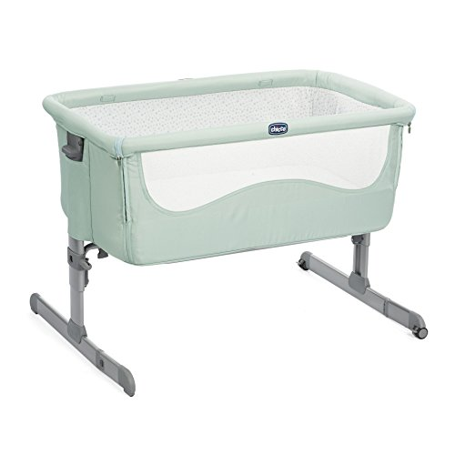 "Chicco2018 Side Sleeping Crib Next2Me ""Dusty Green"" Baby Crib Next 2 Me Brand NEW Review"