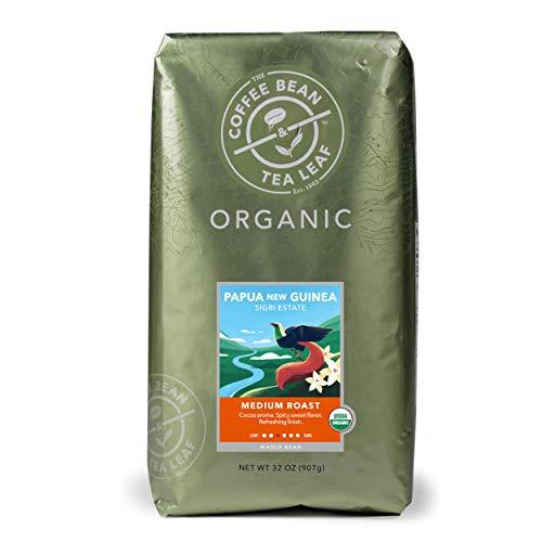 The Coffee Bean & Tea Leaf Organic Papua New Guinea Coffee, 2 lb bag