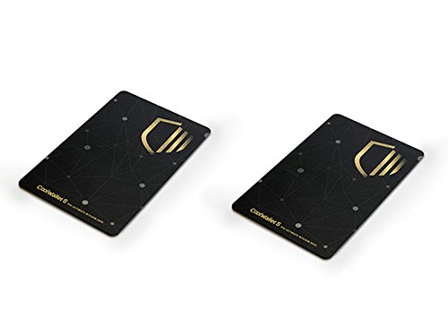 CoolWallet S Duo | Bitcoin Hardware Wallet 2 Pack (Best Wallet For Ripple)