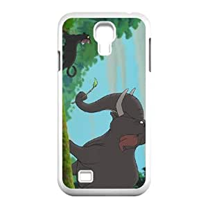Samsung Galaxy S4 9500 Cell Phone Case White Disney The Jungle Book Character Colonel Hathi R3327815