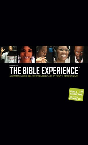 Inspired By . . . The Bible Experience: The Complete Bible, Audio CD: A Dramatic Audio Bible Performed by 400 of Today