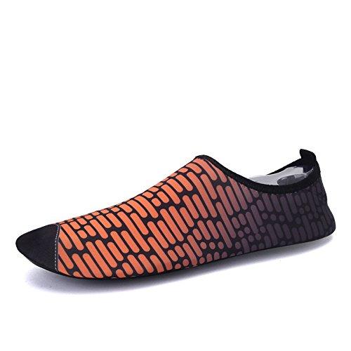 elástica Lucdespo naranja zapatos natación aire buceo deportes libre de energía de transpirable funcional suave S 169 Zapatos playa al multi y rpUqPrZWn
