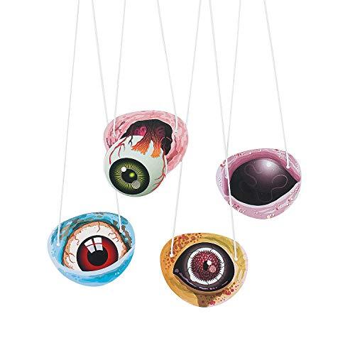 Fun Express - Zombie Eyepatch for Halloween - Apparel Accessories - Costume Accessories - Bulk Accessories - Halloween - 48 Pieces]()