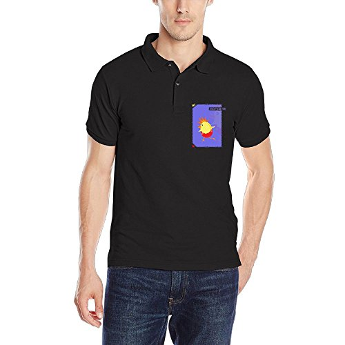 FFRD6G Pick Up Easter Egg Chicks Forgiven&Free Performance Fashion Men Short Sleeve Polo Golf - Polo Mean What Logo Does The