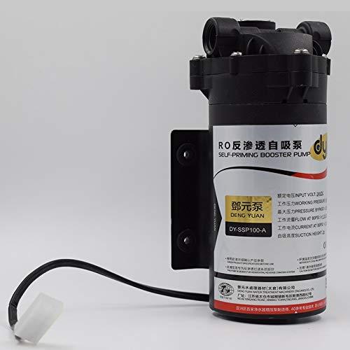 Fumak: Bomba de Agua de 100 galones RO autocebante con 24 VDC en Sistema de Filtro de Agua de ósmosis inversa para Tanque de Agua subterránea/Almacenamiento ...
