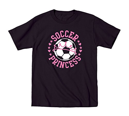 Soccer Princess Fun Cool Sport Crown Ball - Toddler T-Shirt