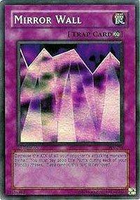 (Yu-Gi-Oh! - Mirror Wall (PSV-016) - Pharaohs Servant - 1st Edition - Super Rare)