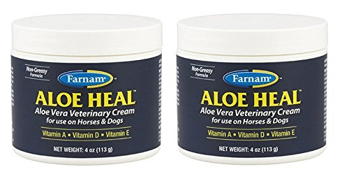 - (2 Pack) Farnam Aloe Heal Veterinary Cream with Aloe