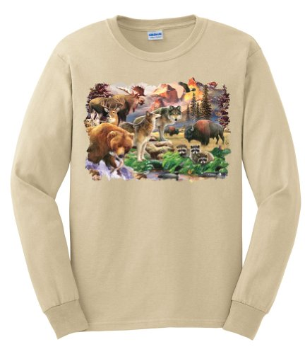 Wild Animal T-Shirts - 1