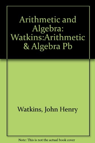 Arithmetic and Algebra