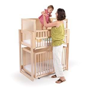 Whitney Bros - Space Saver Two Level Crib