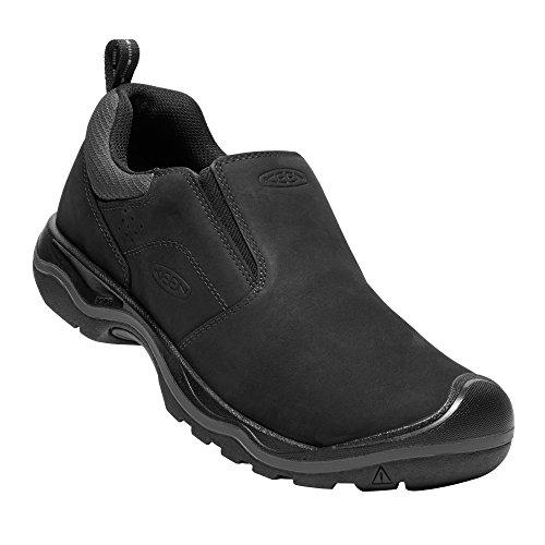 KEEN - Men's Rialto Slip On Everyday Walking Shoe, Black, 11