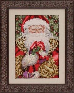 Mirabilia Counted Cross Stitch Chart Pattern - Santa (Santa Cross Stitch Chart)