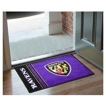 Amazon Com 19 Quot X30 Quot Purple Nfl Baltimore Ravens Area Rug