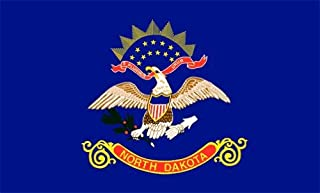 product image for Valley Forge North Dakota Flag 4 x 6 Feet Nylon - Outdoor