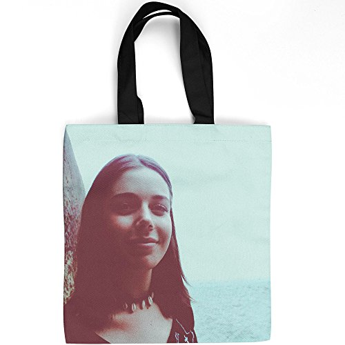 Westlake Art - Woman Female - Tote Bag - Picture Photography Shopping Gym Work - 16x16 Inch (Passerelle Des Arts)