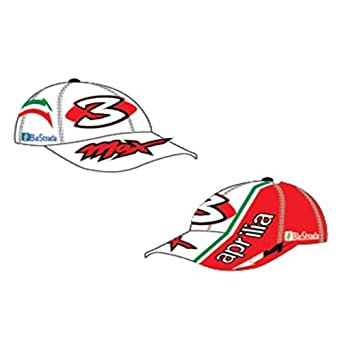 New official max biaggi aprilia white cap adjustable amazon new official max biaggi aprilia white cap adjustable altavistaventures Gallery