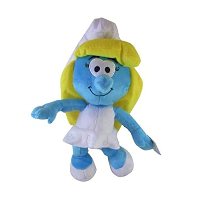 The Smurfs Stuffed Animal - Smurfette Plush (9 Inch): Toys & Games [5Bkhe0304932]