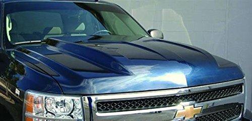 Reflexxion 702610 2007-2013 Chevrolet Silverado 1500 Steel Cowl Induction Hood - Silver ()