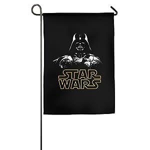 Darth Vader de Star Wars Logo bandera de Jardín