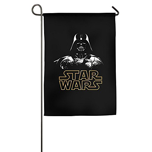 [Darth Vader Star Wars Logo Garden Flag] (Welcome To The Black Parade Costume)