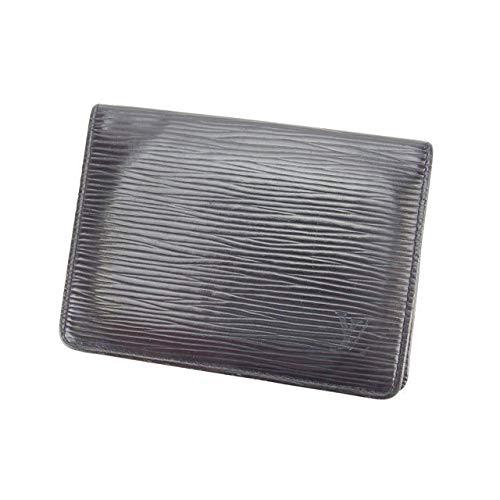 (Louis Vuitton) ルイヴィトン 定期入れ パスケース メンズ可 ポルト2カルトヴェルティカル M63202 エピ 中古 L537   B01LXXKV0R