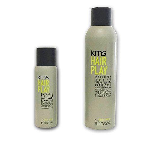 KMS HairPlay Makeover Spray 6.7oz+2.0oz duo set